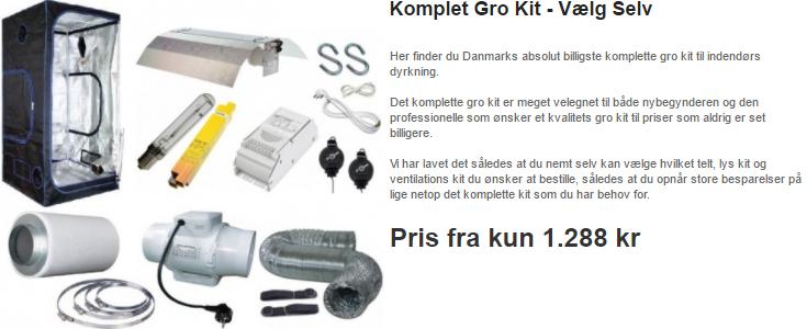 Vælg Selv Gro Kit