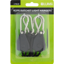 Lumii Rope Ratchet Light Hangers, 2 stk.