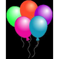 Store Balloner 5 stk.