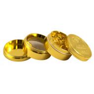 Guld Alu Grinder 48mm