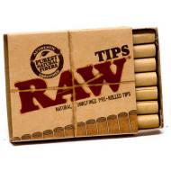 Raw Færdigrullede Filter Tips